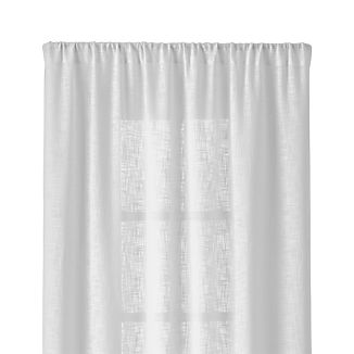 "Lindstrom White 48""x84"" Curtain Panel"