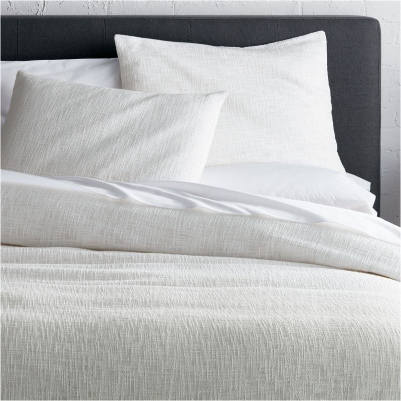 Lindstrom White Duvet Covers And Pillow Shams Crate And