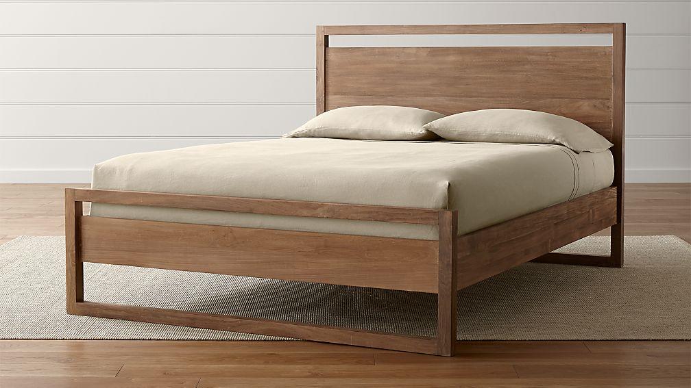 Linea Ii Queen Bed Crate And Barrel