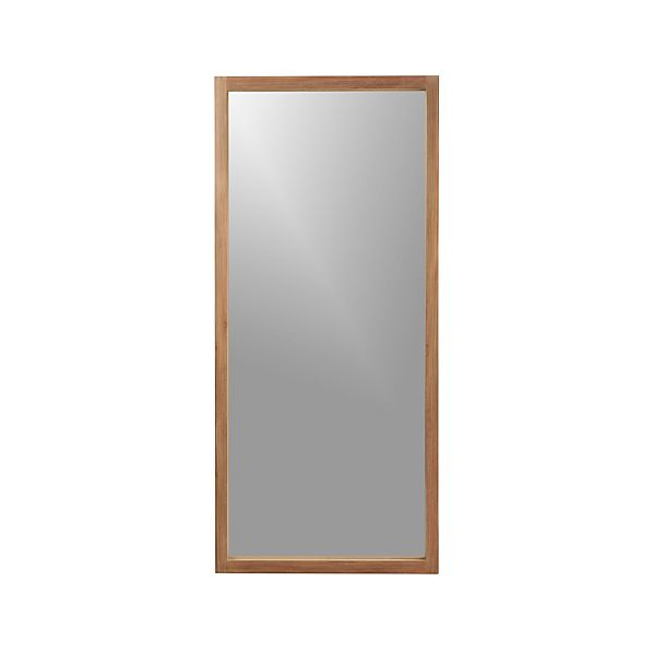 Linea Ii Floor Mirror In Mirrors Crate And Barrel