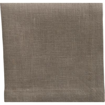 Set of 8 Linen Brindle Cocktail Napkins
