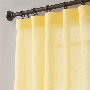 Yellow Curtain Panels Curtain Design