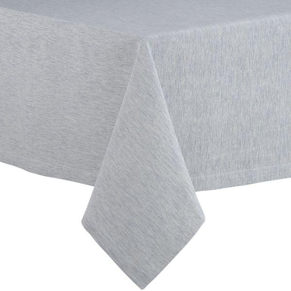 "Linden Slate 60""x120"" Tablecloth"