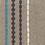 """Linnie Striped Wool 12"""" sq. Rug Swatch."""