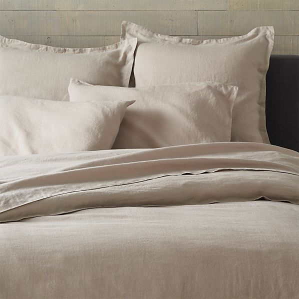 Lino Flax Linen Full/Queen Duvet Cover