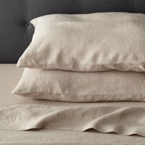 Lino Flax Linen Queen Flat Sheet