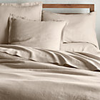 Lino Ii Flax Linen Euro Sham Crate And Barrel