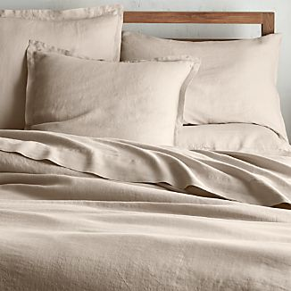 Lino II Flax Linen Duvet Covers and Pillow Shams