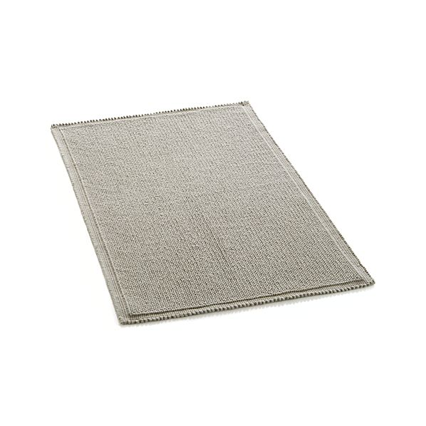 Creative Ultra Spa White 20quotx30quot Bath Rug  Crate And Barrel