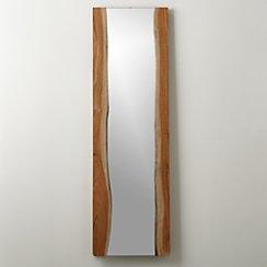 Live Edge Floor Mirror