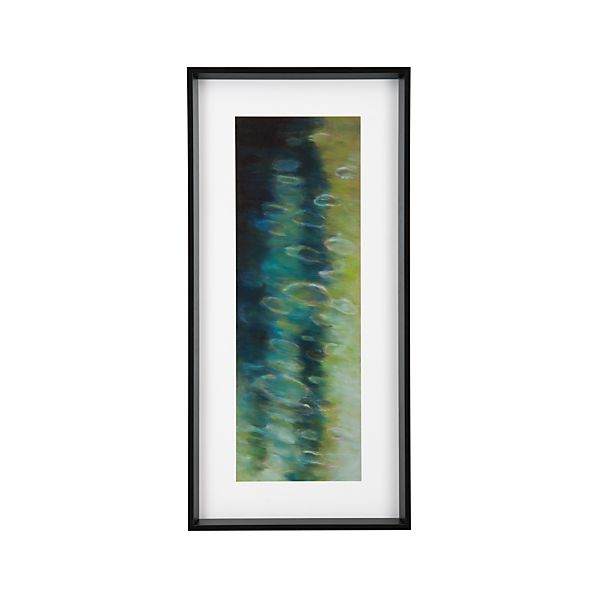 Living Water Green Print