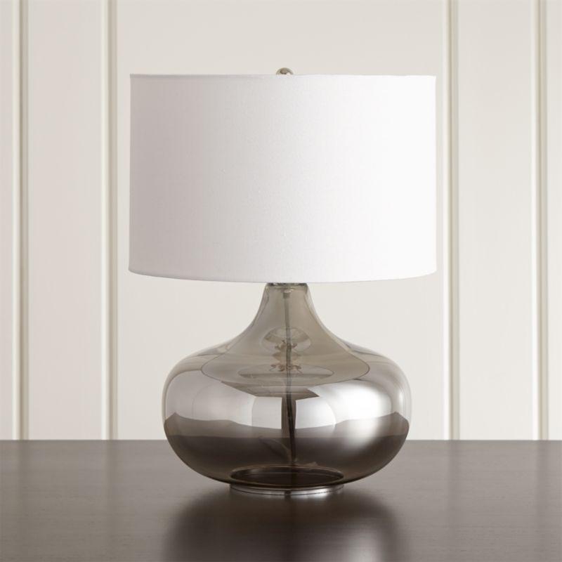 liza table lamp crate and barrel. Black Bedroom Furniture Sets. Home Design Ideas