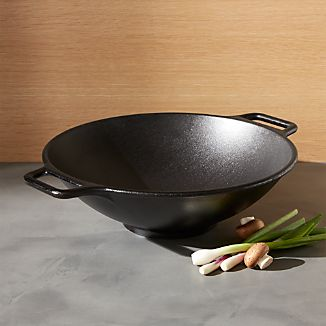 Lodge ® Cast Iron Wok