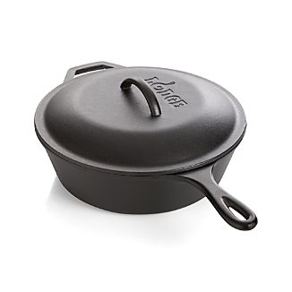 Lodge ® Cast Iron Deep Skillet