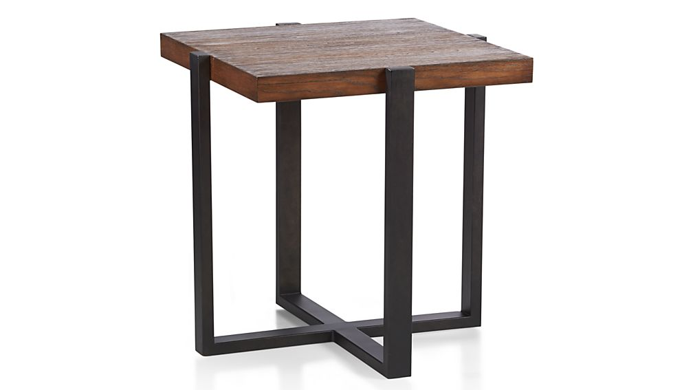 Lodge Square Side Table Crate And Barrel