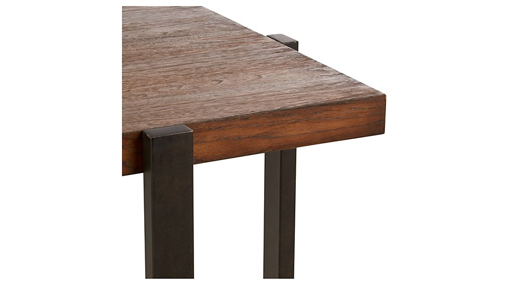 Lodge Square Side Table