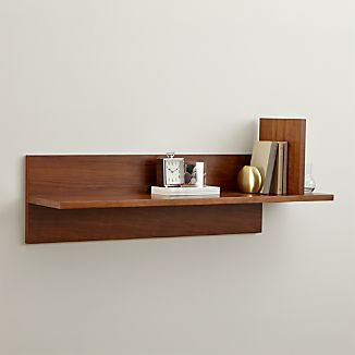 Display Shelves Amp Picture Ledges Crate And Barrel