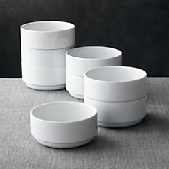 Set of 8 Logan Stacking Bowls