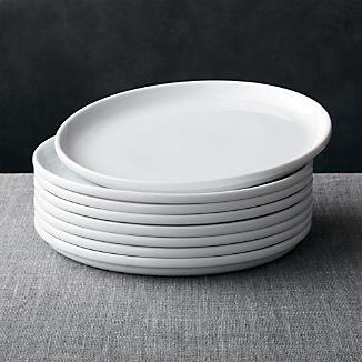 Set of 8 Logan Stacking Dinner Plates
