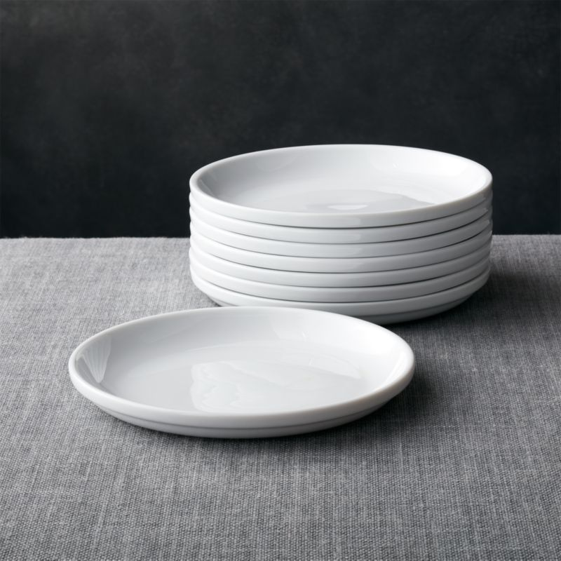Set of 8 Logan Stacking Salad Plates