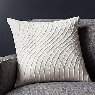 "Lokima 18"" Pillow with Down-Alternative Insert"