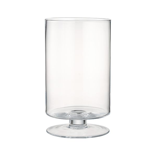 London Tall Glass Hurricane Candle Holder