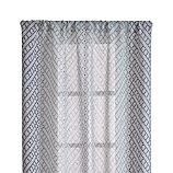 "Lorena Blue Chevron 48""x84"" Curtain Panel"