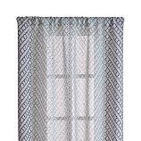"Lorena Blue Chevron 48""x84"" Curtain Panel"