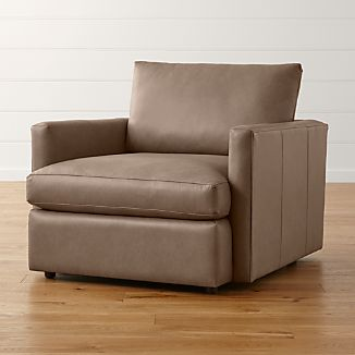 Lounge II Leather Swivel Chair