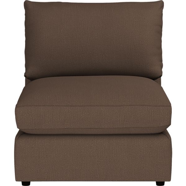 """Lounge 32"""" Sectional Armless Chair"""