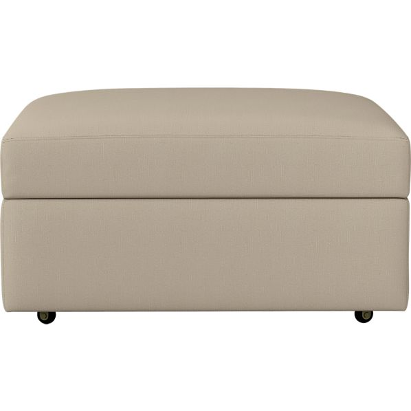 """Lounge 32"""" Ottoman with Casters"""