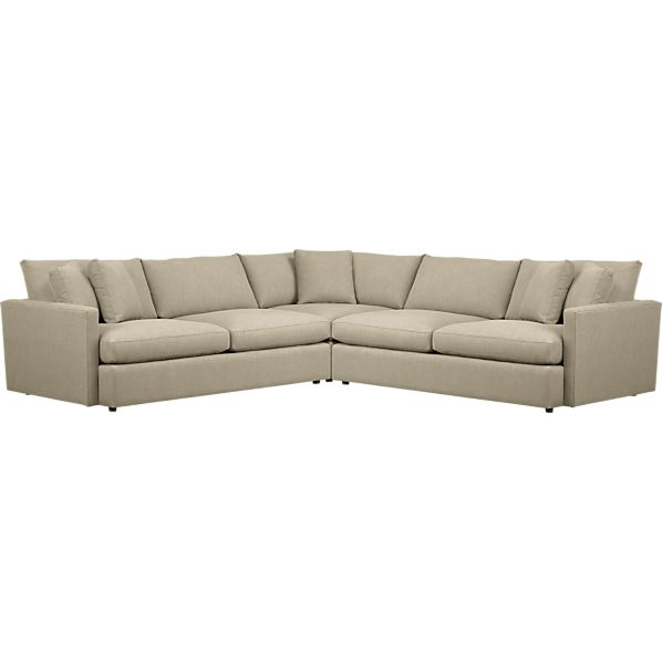 Lounge 3-Piece Sectional Sofa
