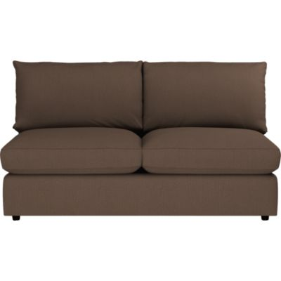 Lounge Sectional Armless Loveseat