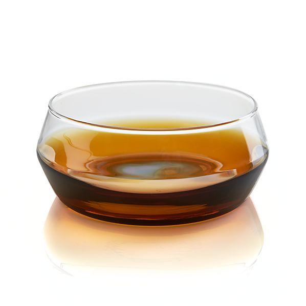 Lounge Wide Amber Bowl
