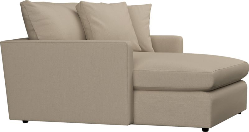 Family-style informality shapes up with clean, modern lines. You can really curl up in these plush, deep seating options. Lounge sectional also available.<br /><br />After you place your order, we will send a fabric swatch via next day air for your final approval. We will contact you to verify both your receipt and approval of the fabric swatch before finalizing your order.<br /><br /><NEWTAG/><ul><li>Eco-friendly construction</li><li>Certified sustainable, kiln-dried hardwood frame</li><li>Seat cushion is multilayer soy- or plant-based polyfoam wrapped in fiber-down blend and encased in downproof ticking</li><li>Back cushion is fiber-down wrapped in downproof ticking</li><li>Flexolator spring suspension</li><li>Upholstery fabric with topstitch detail</li><li>Benchmade</li><li>See additional frame options below</li><li>Made in North Carolina, USA of domestic and imported materials</li></ul>