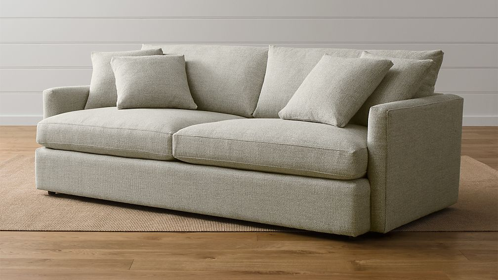 Lounge II Petite 93quot Sofa Crate and Barrel : LoungeII93SofaCementSHS1516x9 from www.crateandbarrel.com size 1008 x 567 jpeg 97kB