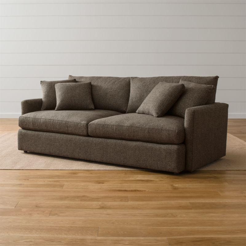 Large Deep Sectional Sofas: Lounge II Large Deep Sofa
