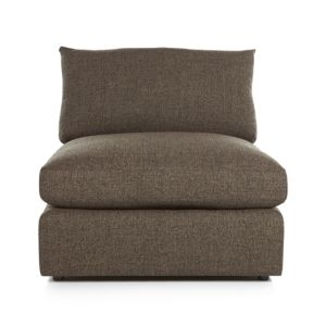 Lounge II Armless Sectional 37