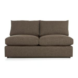 Lounge II Armless Sectional Loveseat