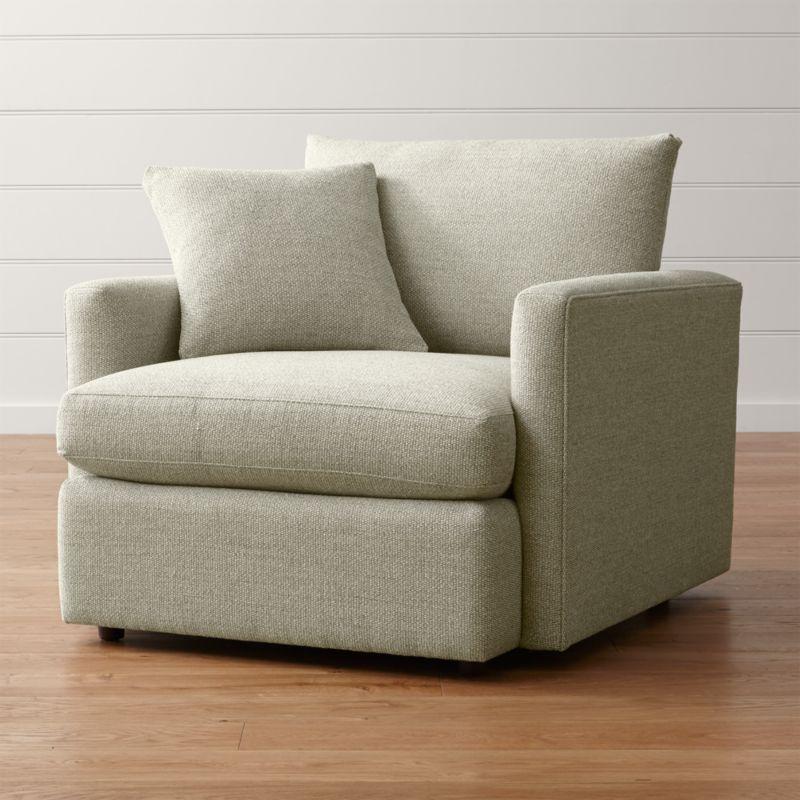 Lounge II Chair Taft Cement