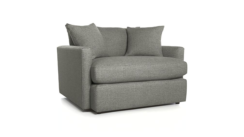 Lounge II Chair and a Half Taft Heather