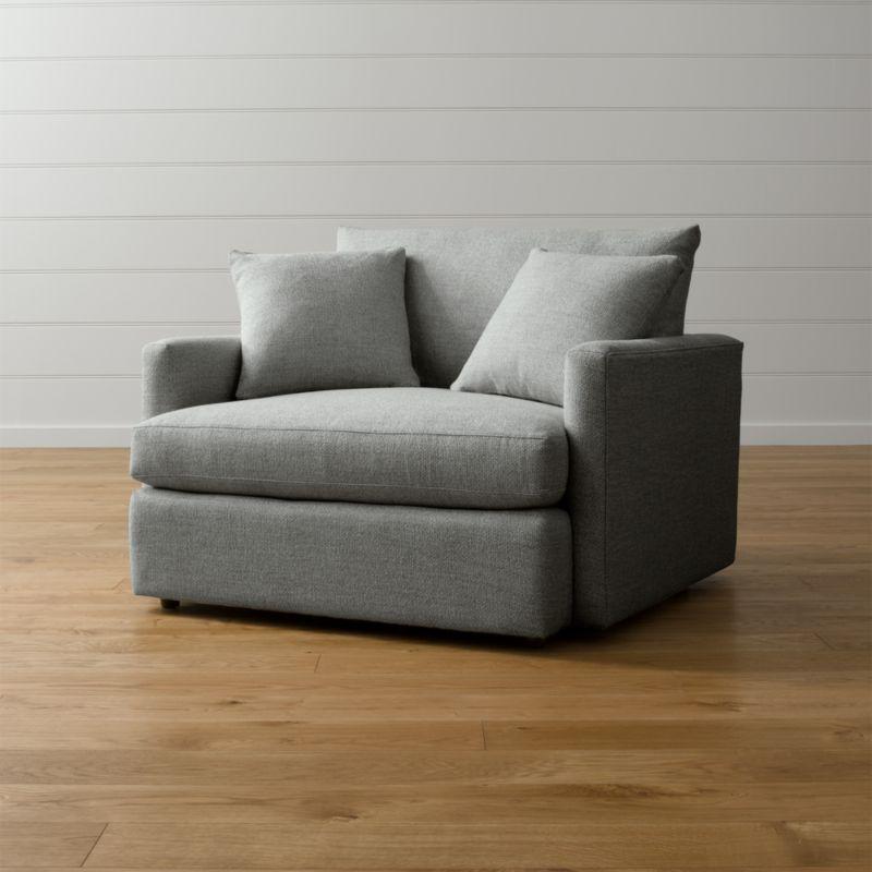 Lounge II Chair and a Half Taft Steel