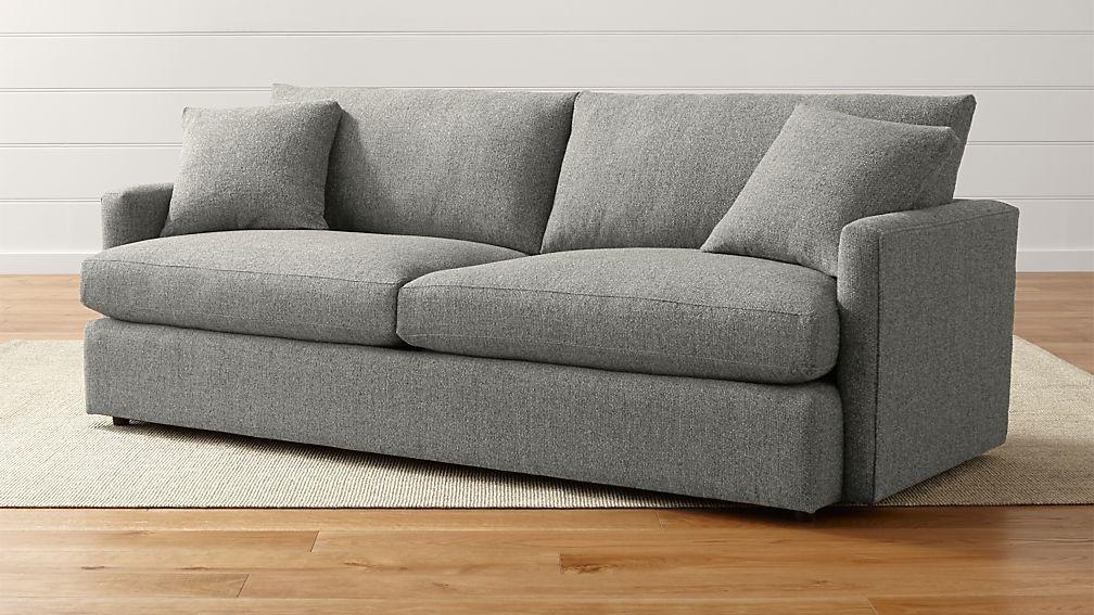 Lounge Ii Petite 93 Quot Sofa Taft Steel Crate And Barrel