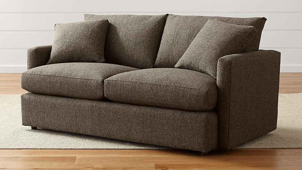 Lounge Petite Apartment Sofa Taft Truffle Crate And