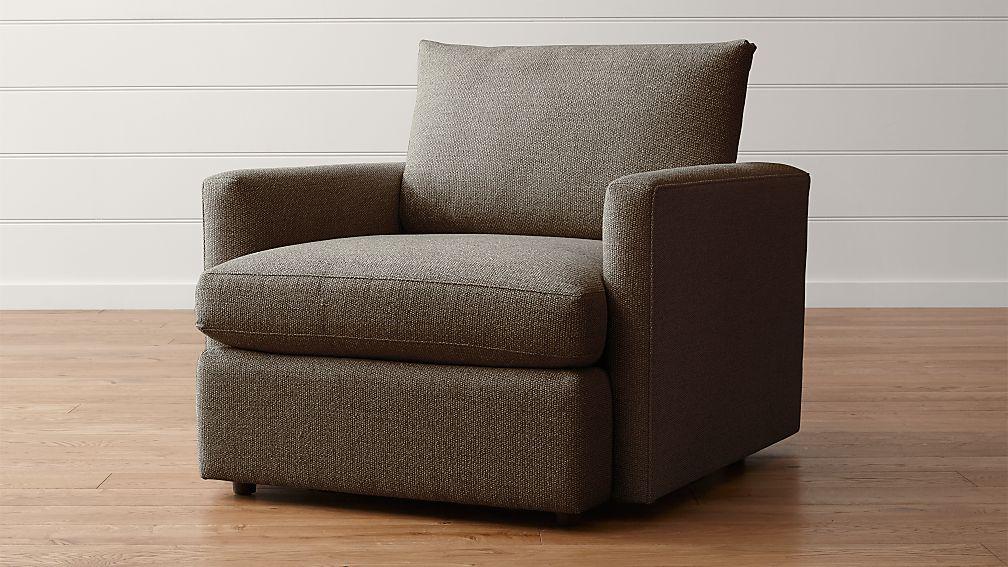 Lounge II Petite Chair Taft Cement