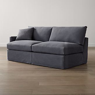 Slipcover Only for Lounge II Petite Left Arm Sofa