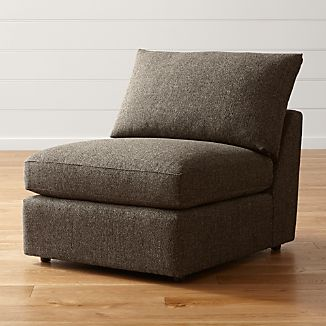 "Lounge II Petite 32"" Armless Chair"