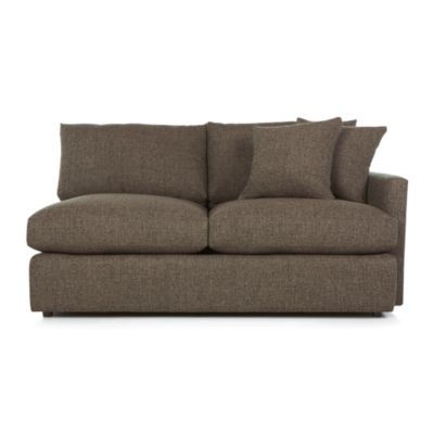 Lounge II Right Arm Sectional Apartment Sofa
