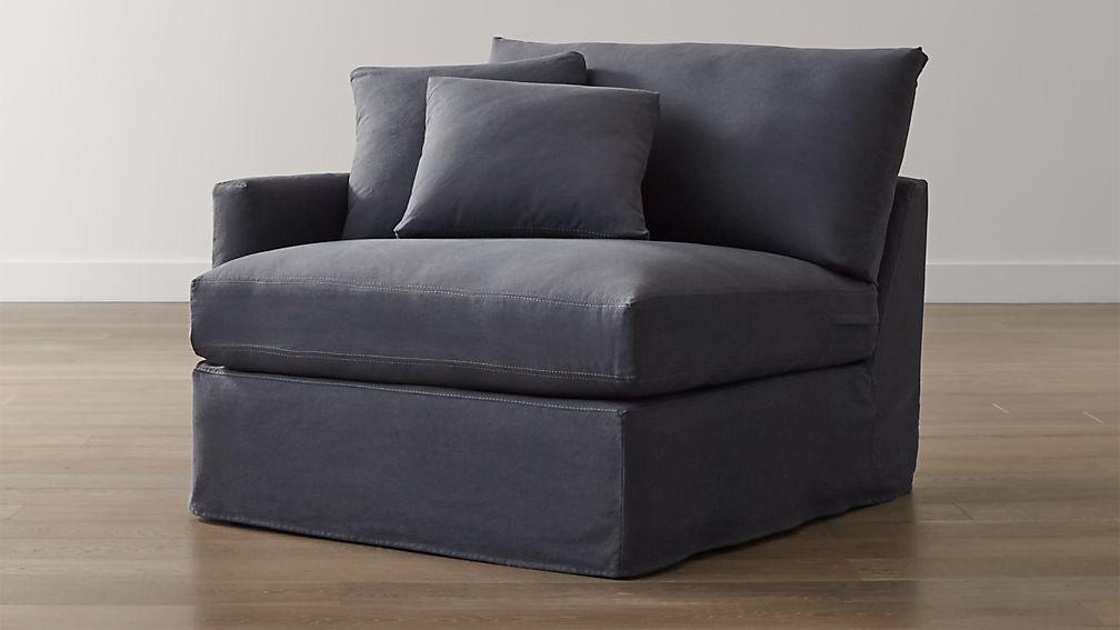 Lounge II Slipcovered Left Arm Chair