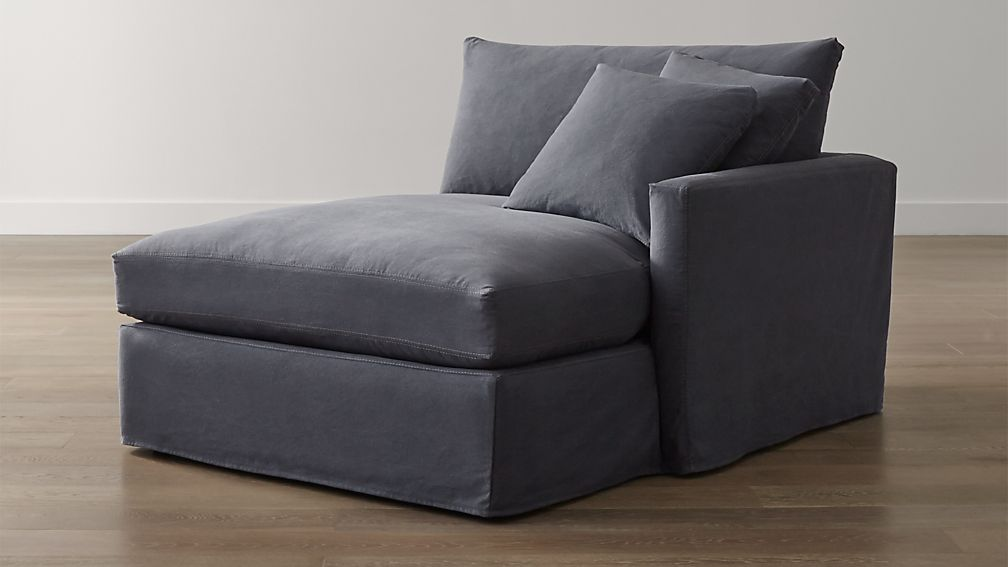 Lounge II Slipcovered Right Arm Chaise